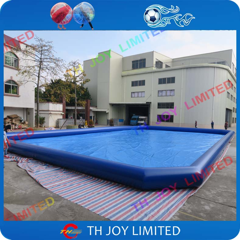 Free shipping large square inflatable adult for Large size inflatable swimming pool
