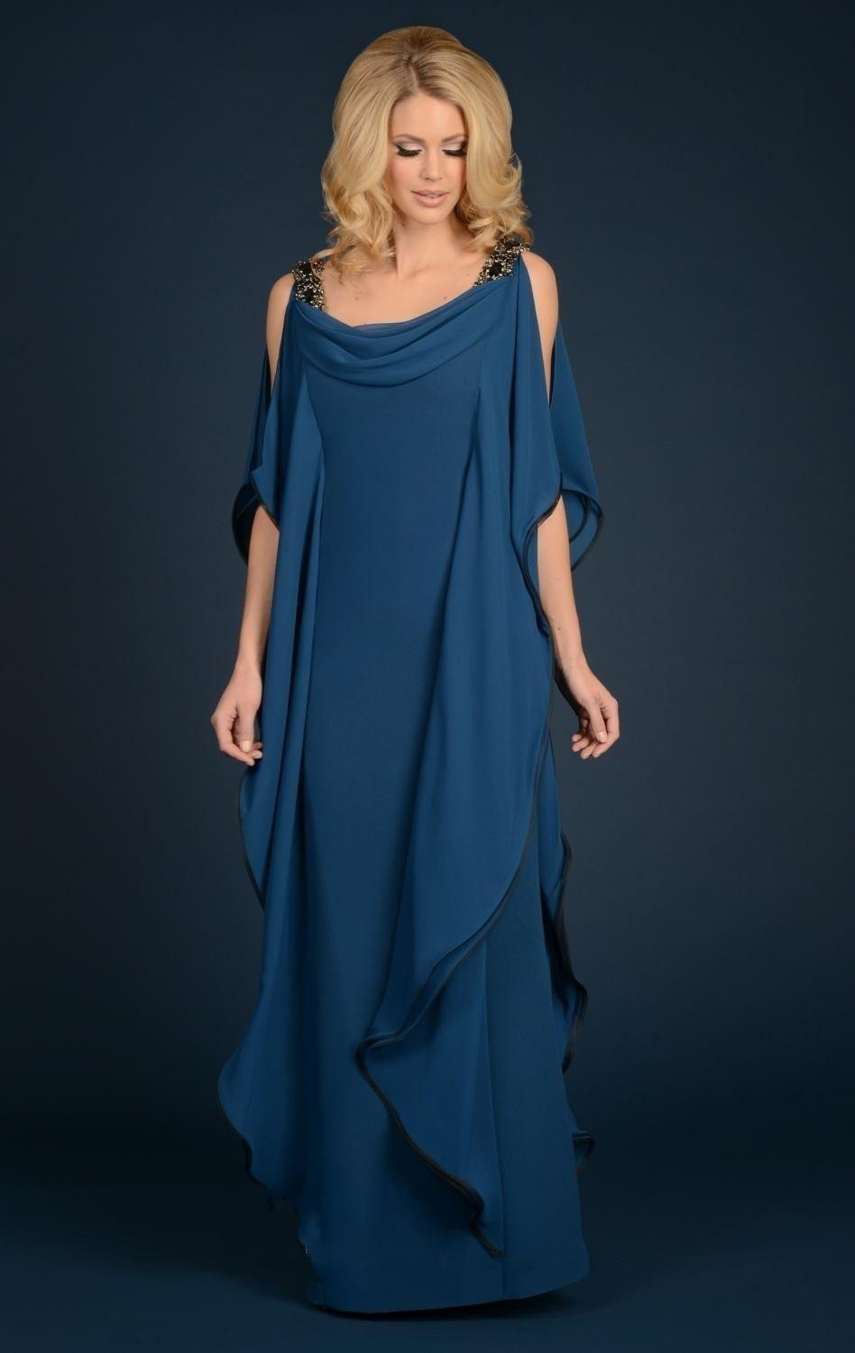 Elegant Long Casual Chiffon Mother Of The Bride Groom