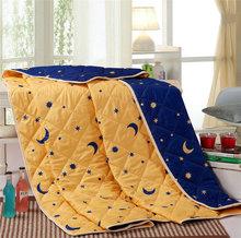 Stella/Luna stampato trapunta cuciture consolatore Primavera/Estate sottile Quilt Duvet Comforter doppia/full/queen size set di biancheria da letto nucleo(China (Mainland))
