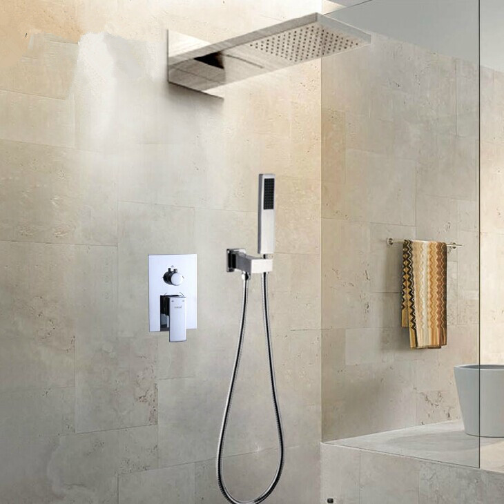 Hook up shower head to faucet
