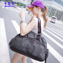 free shipping brand nylon fashion women shoulder duffle bag travel bags, casual large handbag shoulder bag items GB8