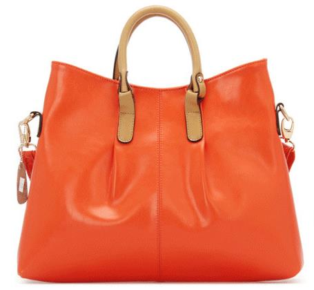 New Arrival Large Capacity Brief Genuine Leather Tote Bags Candy Color Lady's Bag Fashion Women's Brand Handbags(China (Mainland))