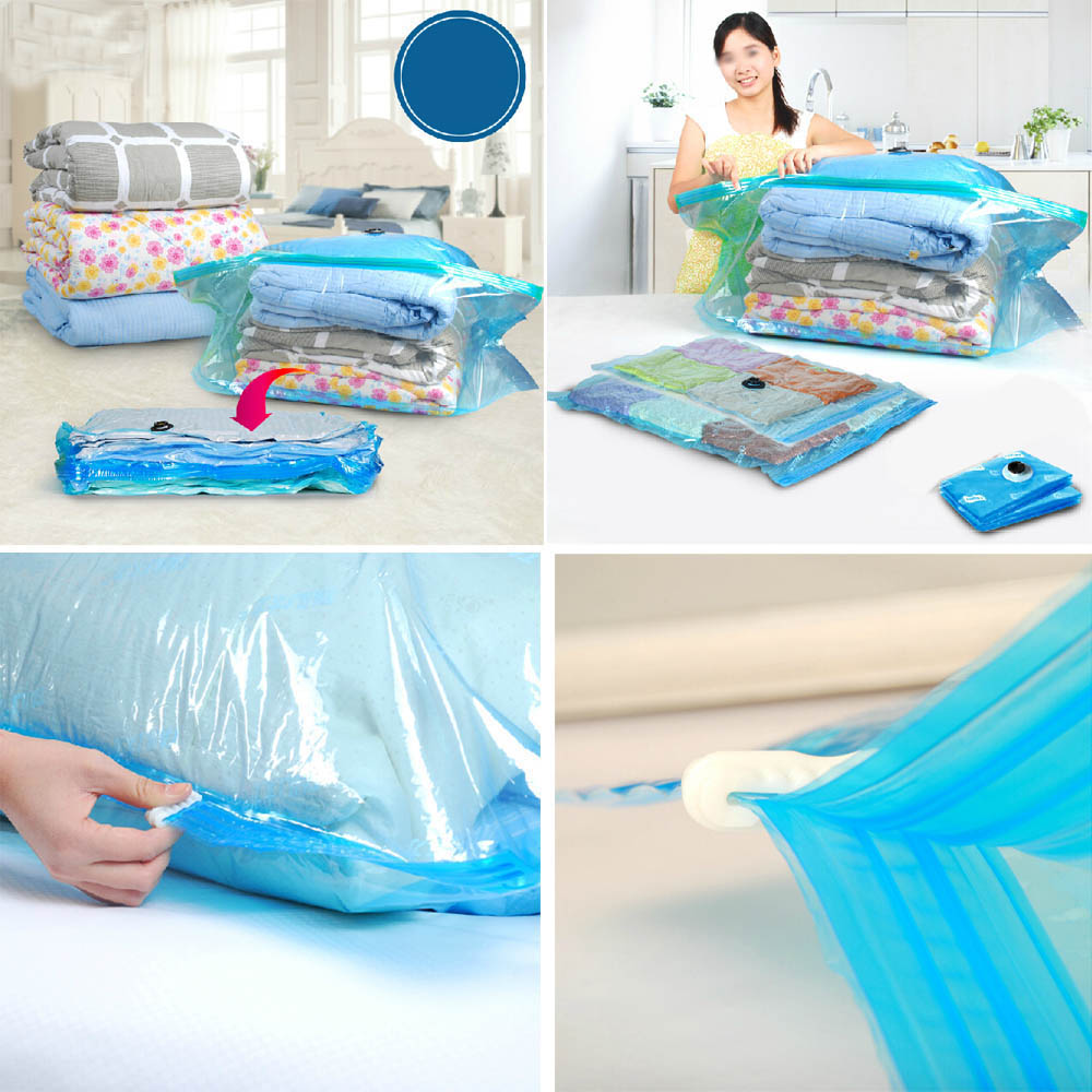 Stereo Cube Compressed Storage Bag Organizer Vacuum Bags Thick Cotton Quilt Buggy Bag Space Saver Saving Storage Bags(China (Mainland))