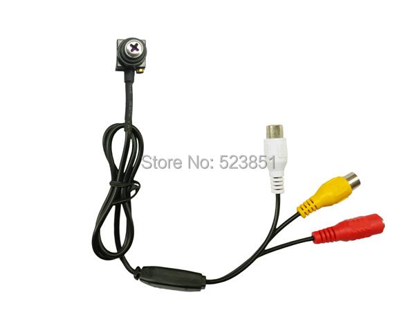 Screw Pinhole Mini CCTV Camera 5.0 Megapixel 600TVL 3299 Sensor Screw Mini Camera for FPV(China (Mainland))