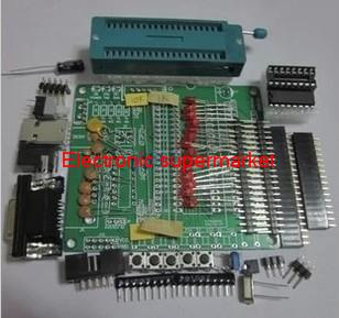 DIY learning board suite suits bulk, 51 / study AVR microcontroller development board plate(China (Mainland))