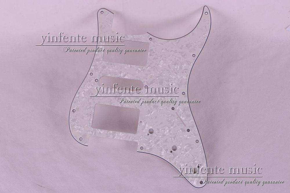New 1pcs Electric Guitar pickguard Strat/ST Yellow style 3-ply HSH #A62(China (Mainland))