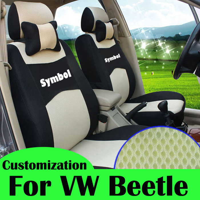 custom seat cover for vw new beetle accessories sandwich car covers for beetle parts cover seats. Black Bedroom Furniture Sets. Home Design Ideas
