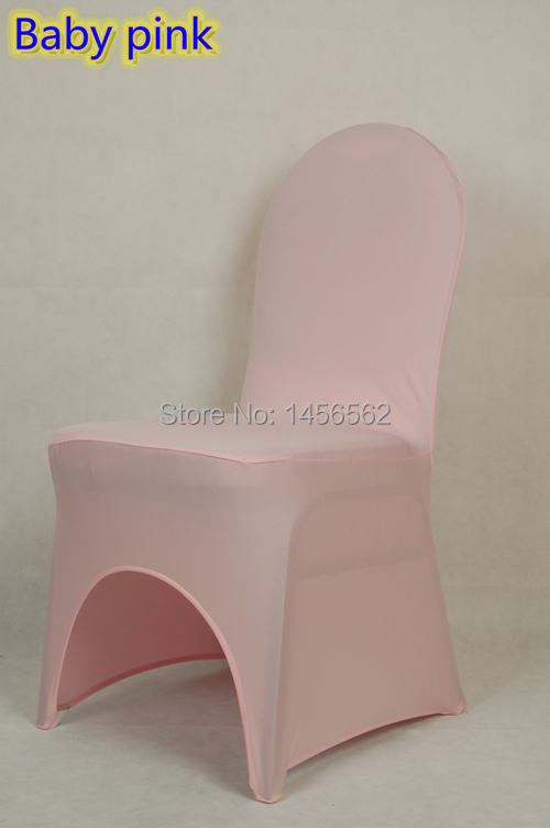 banquet chair cover,Baby pink colour,220grams,reinforced elastic feet pocket,arch front FREE SHIPPING(China (Mainland))