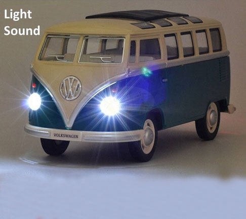 Free shipping volkswagen VW Mini bus 1:24 Alloy Diecast Models Car Toy Collection For Boy Children As Gift brinquedos meninas(China (Mainland))
