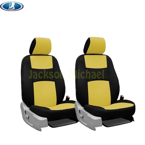 2 front seats Universal car seat cover lada 110 111 112 Kalina Niva sticker accessories<br><br>Aliexpress