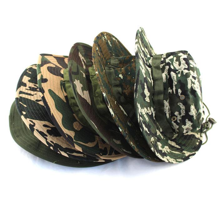 Z20 19 Colors Summer Style 2015 Men Women Camouflage Fishing Hat Bucket Gorras Fisherman Carp Fishing Cap YM002(China (Mainland))