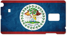 Painting Belize Flag Cell Phone Cover For Samsung Galaxy Core G350 S5830 S2 S3 S4 S5 Mini S6 S7 Edge Plus Note 2 3 4 5 Case