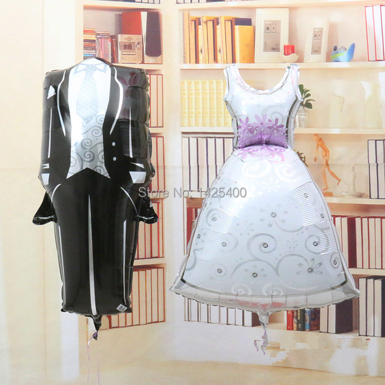 Free shipping new aluminum decorative items for men and women wedding balloons party balloons wholesale(China (Mainland))