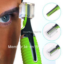 2014 Personal LED Light Nose Ear Face Hair Trimmer Shaver Clipper New Facial Cleaner Home Health