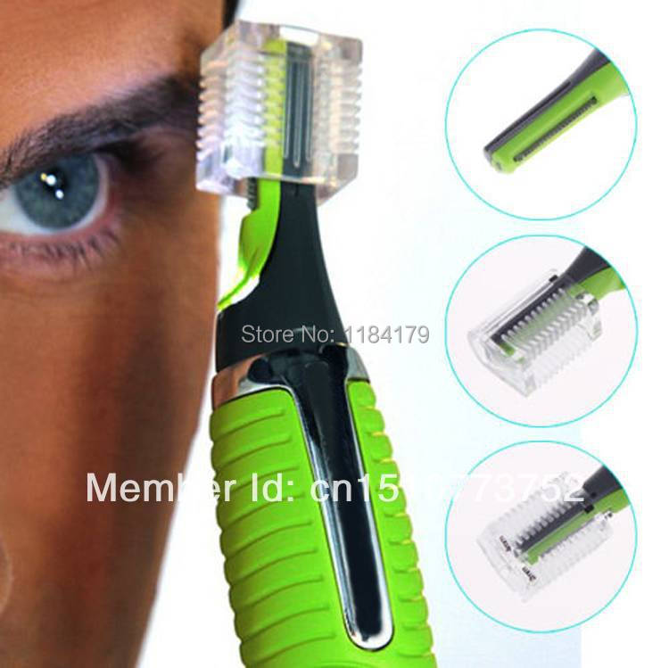 2014 Personal LED Light Nose Ear Face Hair Trimmer Shaver Clipper New Facial Cleaner Home Health Care For Men A3116 YaRQ(China (Mainland))