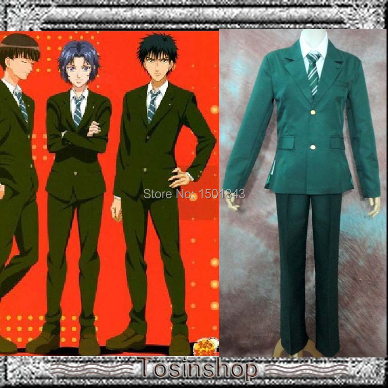 Free shipping!Anime The Prince of Tennis High School Uniform cosplay costumes Full Set(China (Mainland))