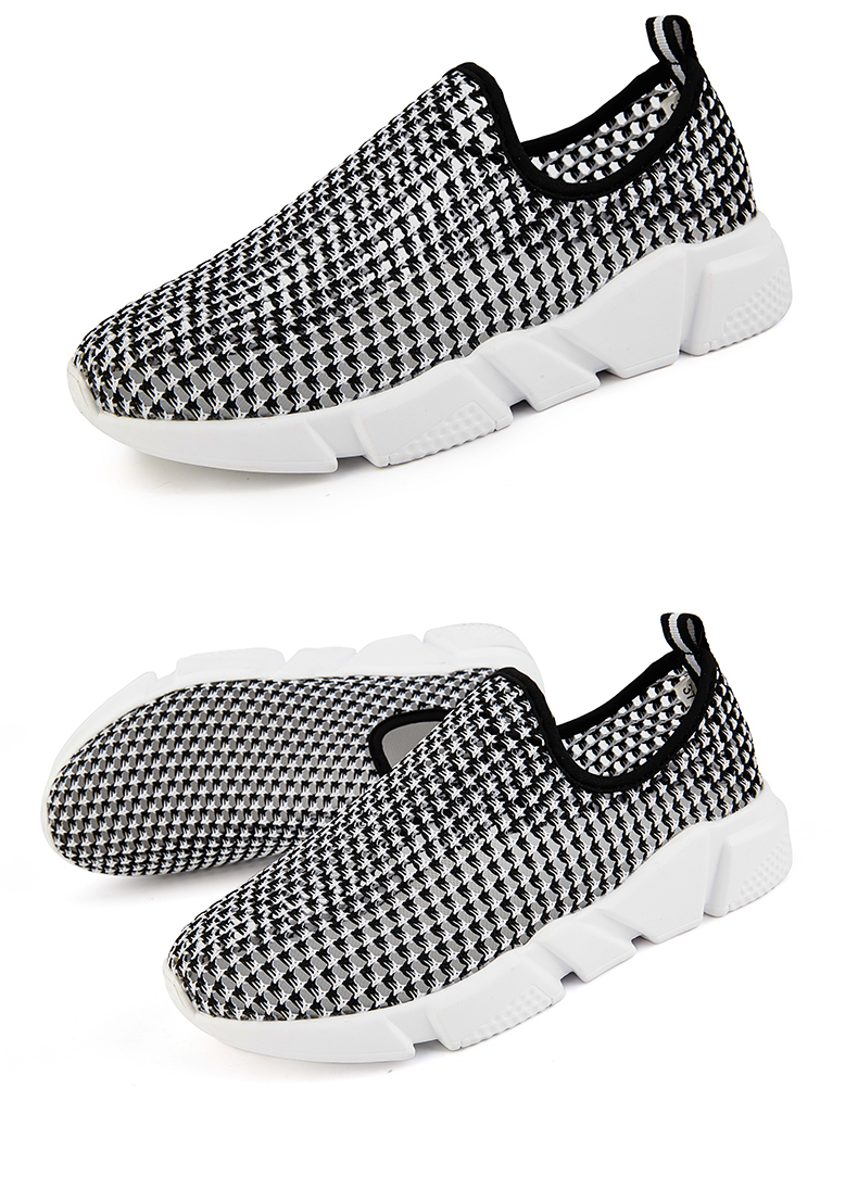 Socone Women Walking Shoes Breathable Air Mesh Shoes Lightweight LOVER Platform Woman Healthy Fitness Swing Sport Sneakers (14)