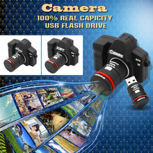 Camera Shape USB Flash drive memory pendrive stick 32GB/4GB/8GB/16GB USB Flash Pen Drive Download Memory Stick Thumb Camera gift(China (Mainland))