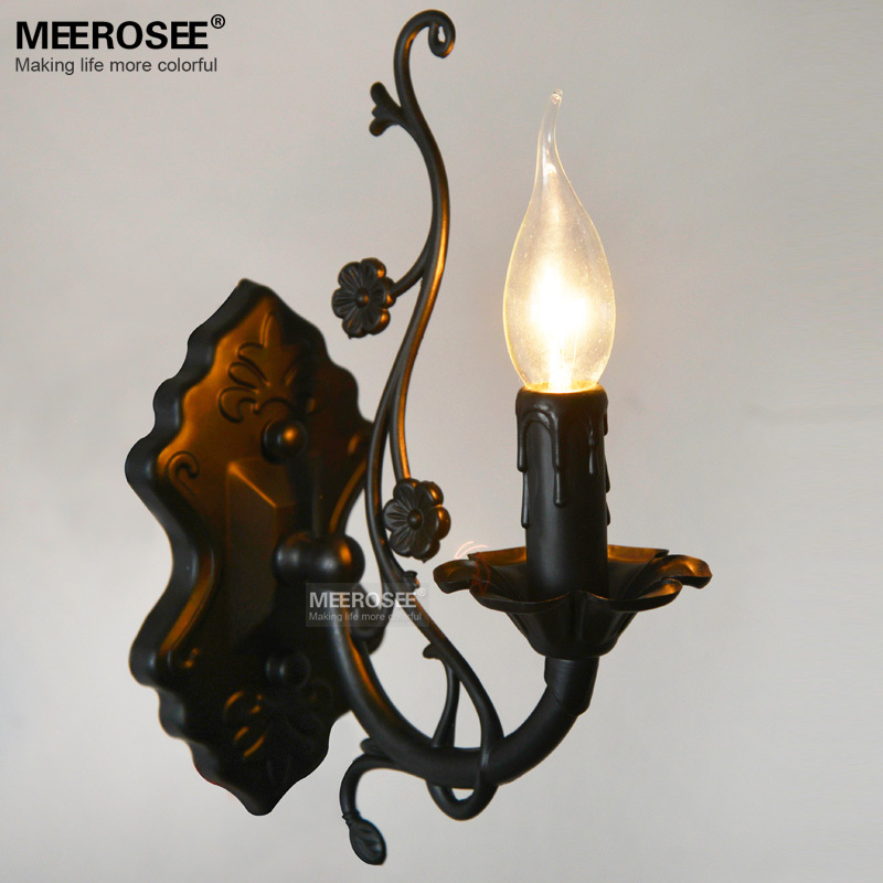 American style Wall lighting fixture Vintage wall bracket Metal wall lamp with E14 bulb for Bedroom cafe sconces 100% Guaranteed<br><br>Aliexpress