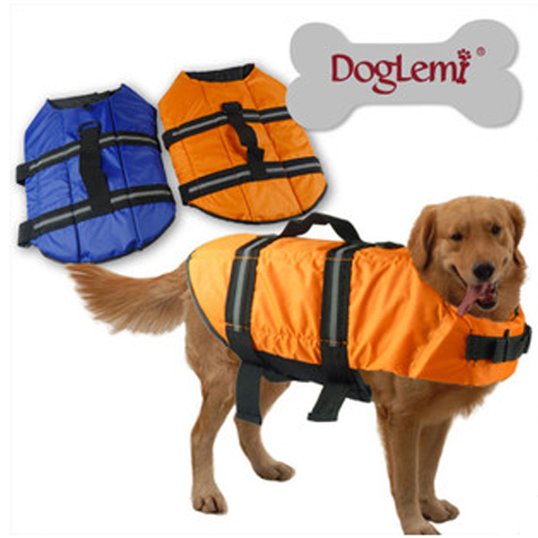 Pet Shop Hot Sale Labrador Dog Clothes Winter Safe Clothing Product Pet Waterproof Belted Golden Retriever Big Dogs Life Jackets(China (Mainland))