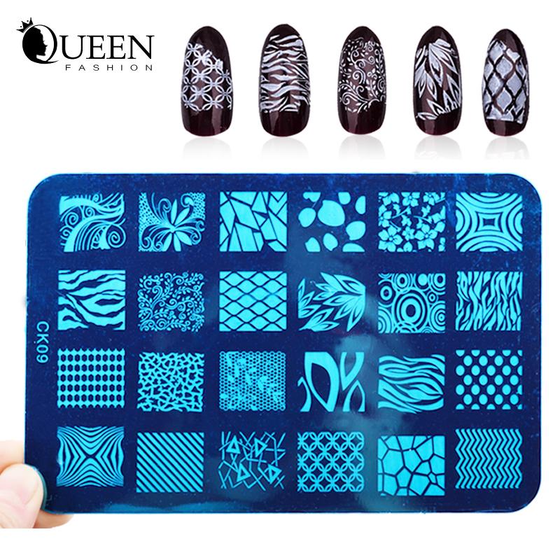 Шаблоны для дизайна ногтей