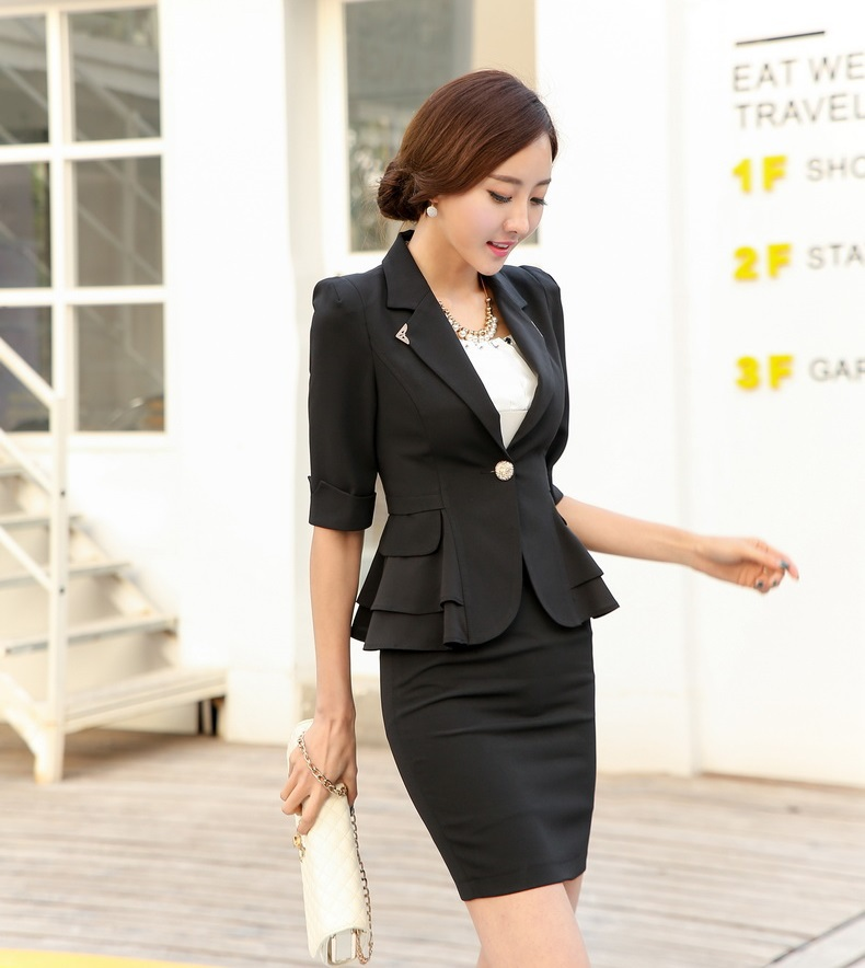 Cool Tweed Jacket  Skirt Suit Spring  Autumn Autumn New Women39s Jacket