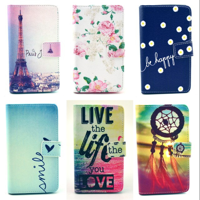 For Sony Xperia SP M35H Case High quality fashion cartoon design Magnetic Holster Flip PU Leather Cases Cover C1487-A(China (Mainland))