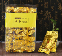 Authentic 2015 Taiwan mountain Super ginseng 250g Oolong Tea Languiren Dong Ding Wulong Cha small bag pvc box pack freeshipping(China (Mainland))