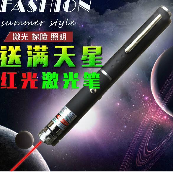 Brand new 2015 HOT TOP 500mw green laser pointer LED star pen RED Beam Laser Pointer Laser Pen Laser torch flashlight,free shipp(China (Mainland))