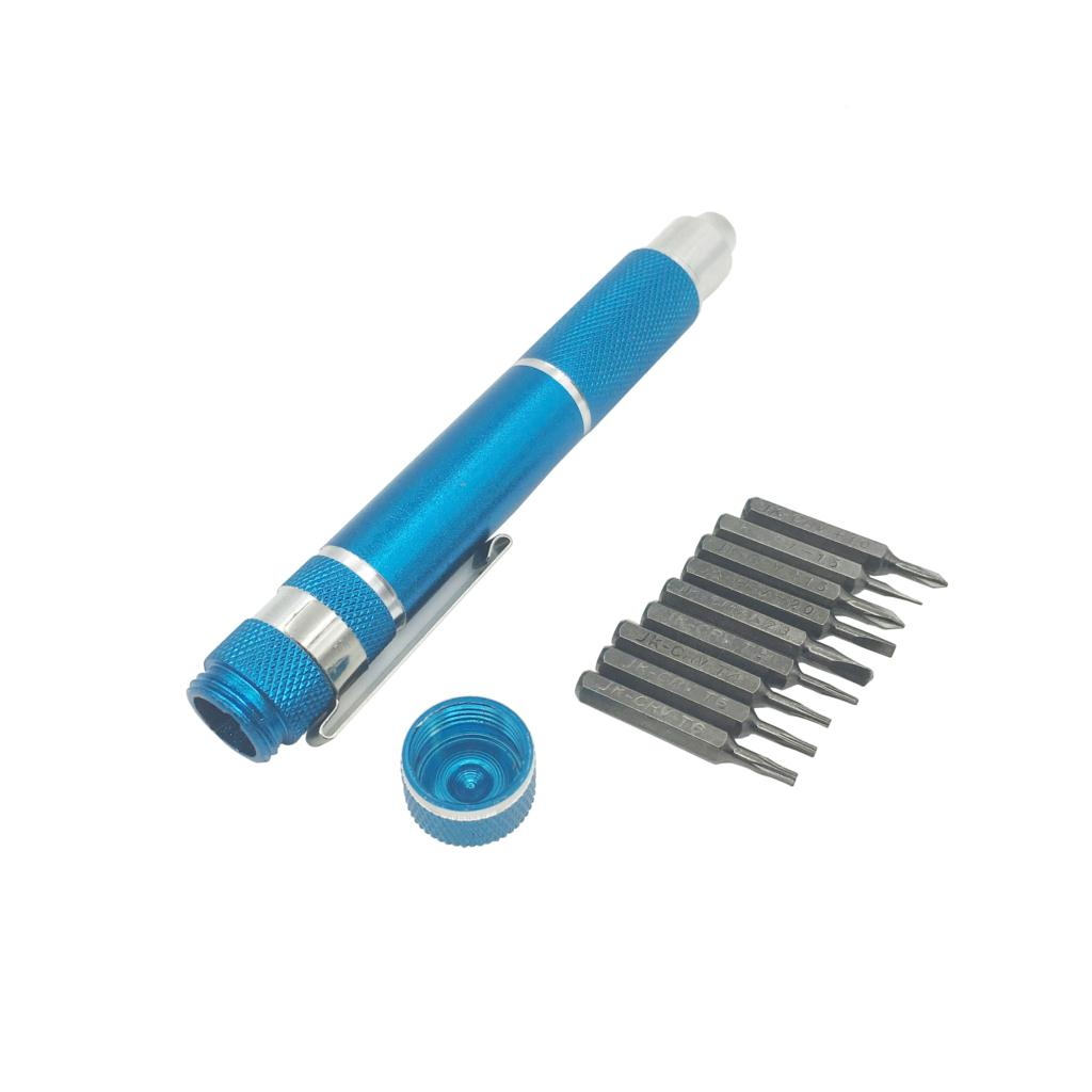 10 In 1 Precision Screwdriver Bit Set Torx Star Phillips Repair Tool Kit for Home Office Electronics(China (Mainland))