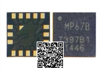8pcs/lot original for iPhone 6 & 6plus Gyro Gyroscope ic chip MP67B(China (Mainland))