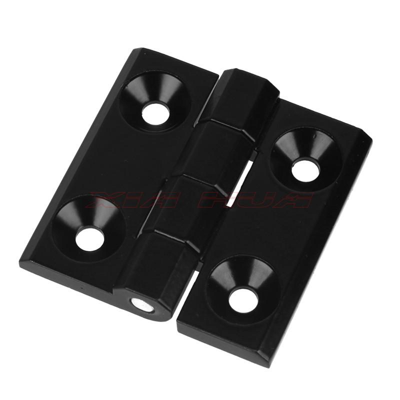 60*60mm Zinc Alloy Door Hinges Black Rotatable Cupboard Door Hinge Thick door hinge The steel cabinet hinges(China (Mainland))