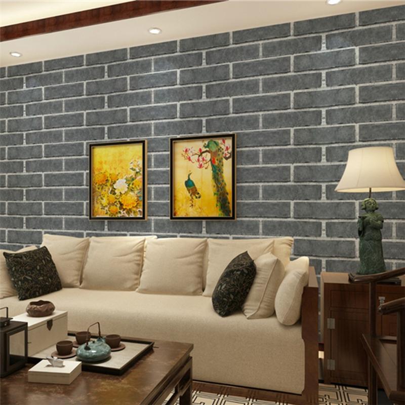 Compra 3d papel pintado moderno revestimiento de paredes - Papel de empapelar paredes ...
