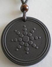 32pcs/lot lava BIO Energy quantum pendant with nano energy card