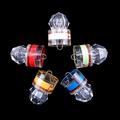 1Pcs LED Deep Drop Underwater Diamond Fishing Flashing Light Bait Lure Squid Strobe LED Fly Fishing
