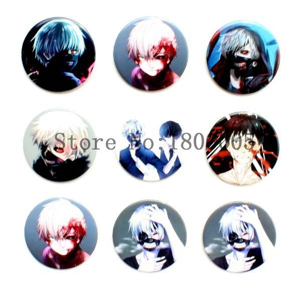 480pcs/10sheets 4.5 cm Hot Anime Death Note Safty Pin badge gifts for kid's Clothing Handbags Schoolbags Decoration(China (Mainland))