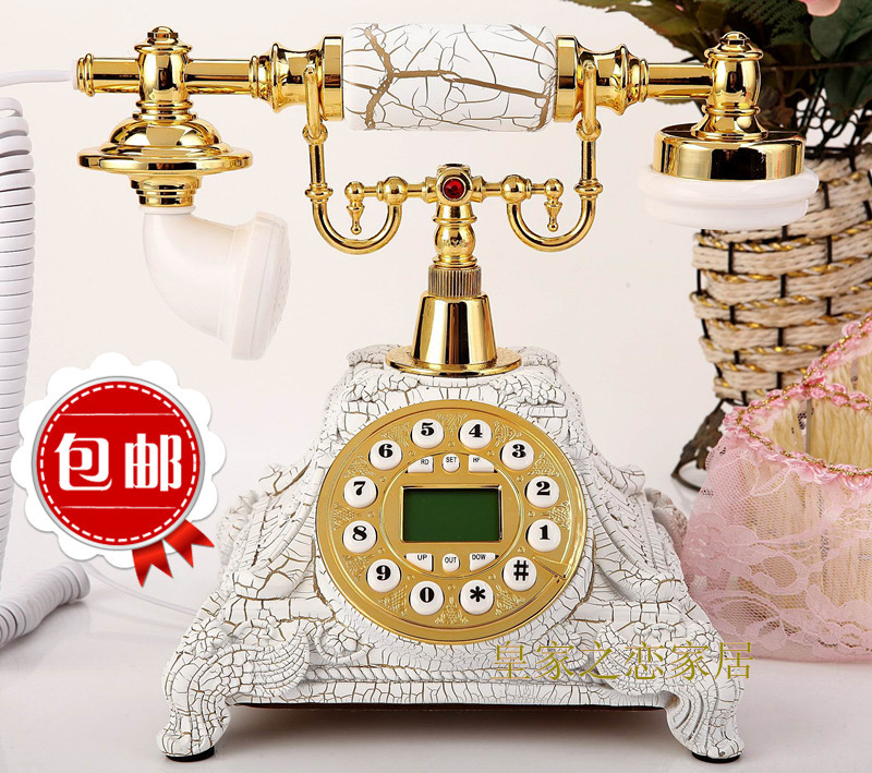 High technology new retro vintage antique European home wireless mobile phone card inserted landline phone free shipping(China (Mainland))