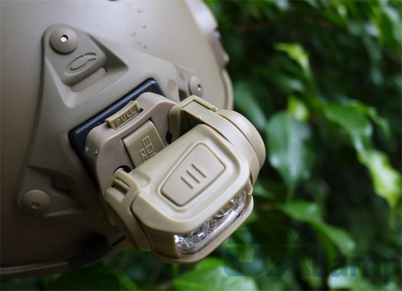 Military Headlight Headlamp LED Red Head Light Lamp Tactical Head Torch Flashlight for Hunting Running Fishing Hiking
