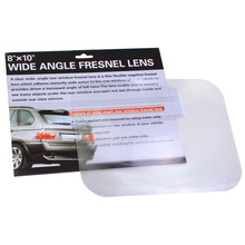 Wide angle fresnel lens car parking reversing sticker useful enlarge view angle,optical fresnel lens Wholesales 24P(China (Mainland))