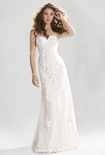 Discount vestido novia Mermaid 2016 Sexy Wedding Dresses Plus Size Crystal Bridal Gowns Simple robe de mariage(China (Mainland))