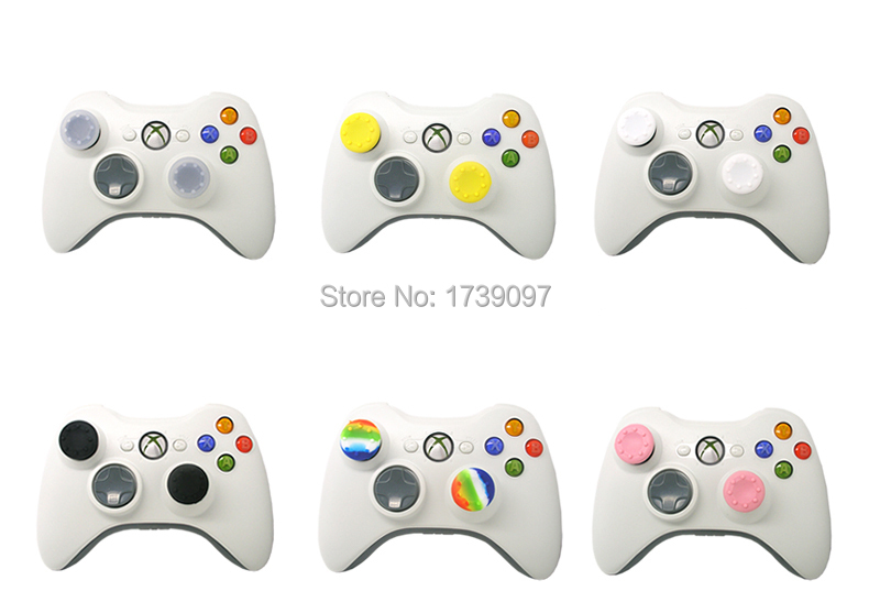 image for 20 X Silicone Analog Controller Thumb Stick Grips Cap Cover For PS Son