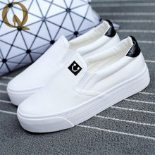 discount hot sales spring summer Low top canvas shoes women new lazy dancing shoes pedal foot wrapping female casual shoes(Canada)