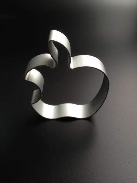 Bitten Apple Shaped Cookie Cutter