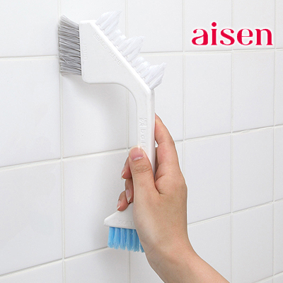 High quality multipurpose floor tiles/ tile gap cleaning brush 3 brush heads not hurt the paint durablecleaning supplies(China (Mainland))