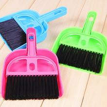 Pets Cleaning Supplies Plastic Broom Set Mini Dustpan and Broom Sweeping Dog House Tool Cleaning Dead mascotas perros(China (Mainland))
