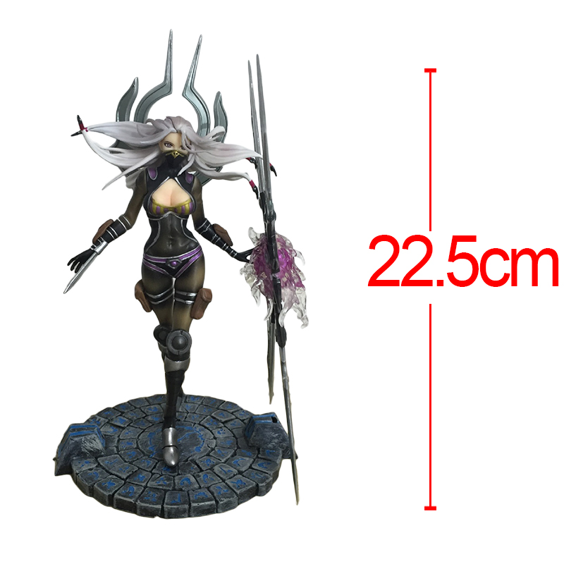 Anime Game LOL Magic Will Blades Irelia PVC Action Figure Limited Edition Doll Collection Model toy 22CM Brinquedos