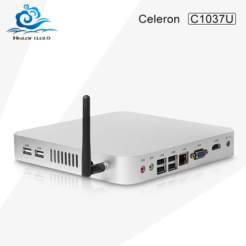 HLY Celeron 1037U Dual Core Mini PC Mini Computer Windows XP, Tablet PC Thin Client, Barebone Mini PC !!(China (Mainland))