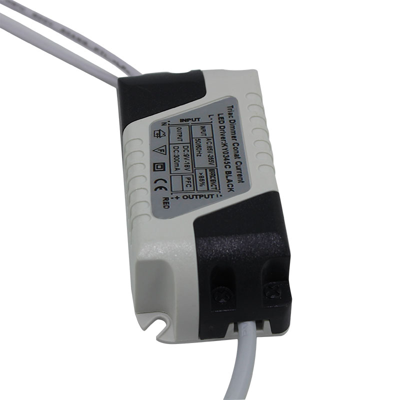 3W Led Driver Constant Current 300mA Supply DC For LED Light Electronic Transformer(China (Mainland))