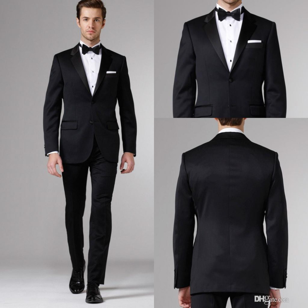 Groom Tuxedos Blazers 3 Pieces Designer Suits For Men