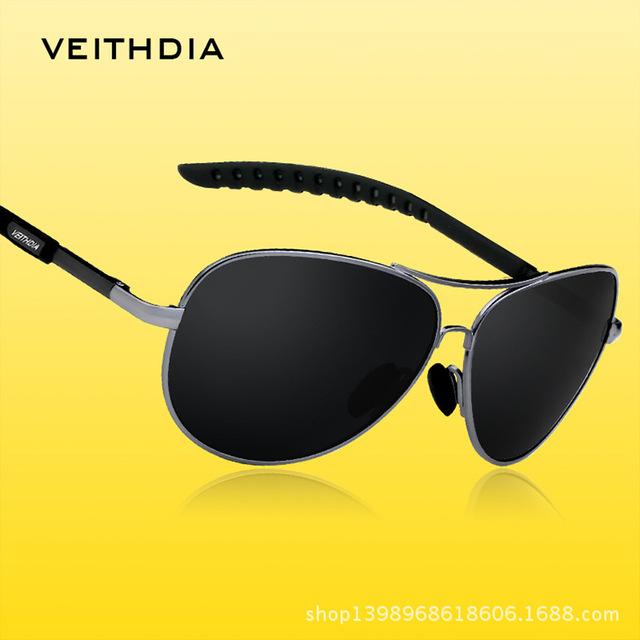 VEITHDIA Мужчины Вождения Поляризованный Солнцезащитные Очки Водителя Мужчины Мужской Открытый Eyewears óculos-де-сол мужской оптовая 3088